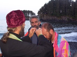 Photo of the Baptism of Kerry Williams in Alaska