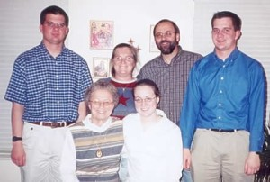 Photo of the Hansen Family